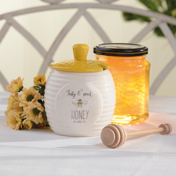 Honey container DMD Bee Happy