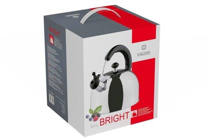 Czajnik Vinzer Bright 3,0 l