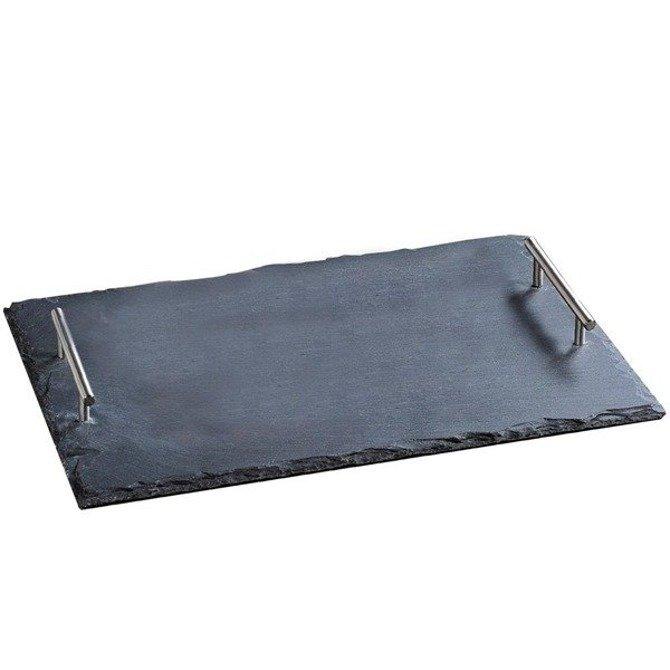 Deska kamienna gastronomiczna Kesper 45x30 z uchwytami