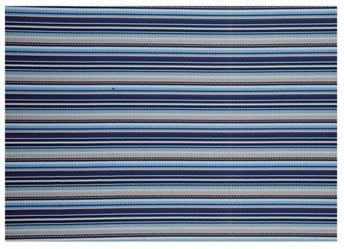 Duża mata kuchenna Granchio 36 x 48 cm niebieska