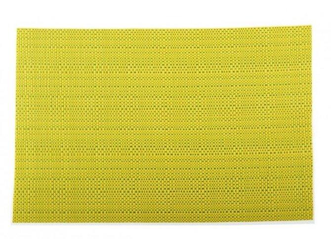 Duża mata kuchenna Granchio  36 x 48 cm jasnozielona