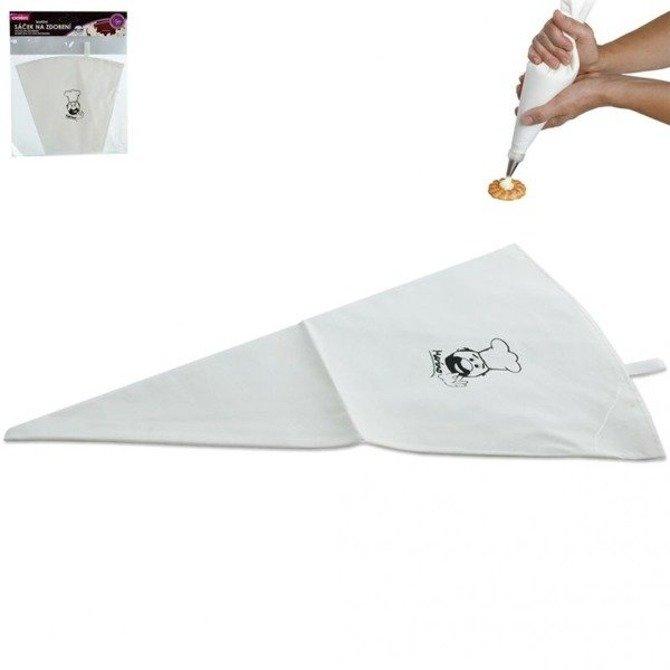 Rękaw cukierniczy bawełniany gumowany 40cm