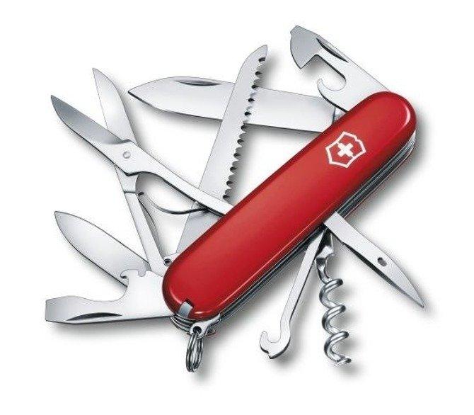 Scyzoryk Victorinox Huntsman czerwony 15 funkcji